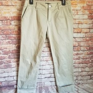 Burberry silver shimmery pants